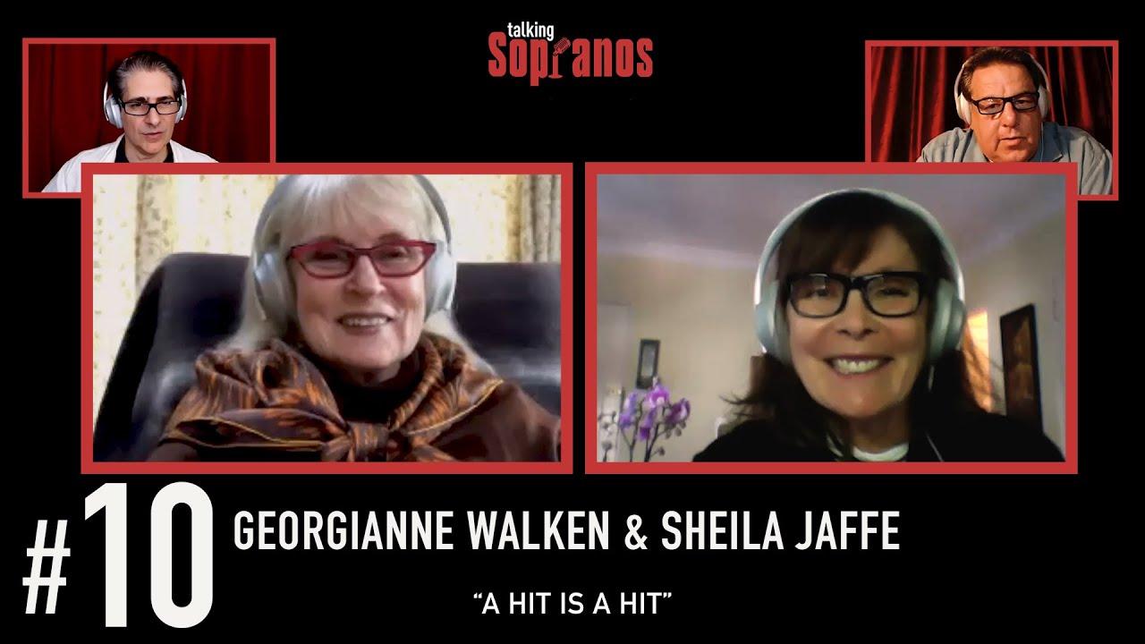 """Download Talking Sopranos #10 w/guests Georgianne Walken & Sheila Jaffe """"A Hit is a Hit"""""""