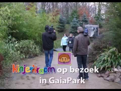Kinjerkraom op bezoek in GaiaPark december 2009
