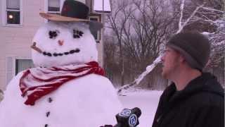 Snowmen, Snowmobiles & Shoveling in Ottawa County