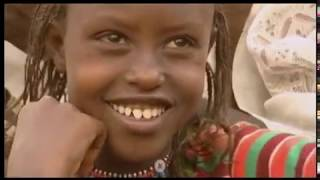 Footage Ethiopia. Tribe ritual: Afar tooth sharpening