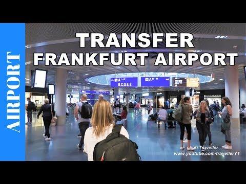 Transfer at Frankfurt Airport - Connection Flight at Frankfurt am Main Airport - Travel video