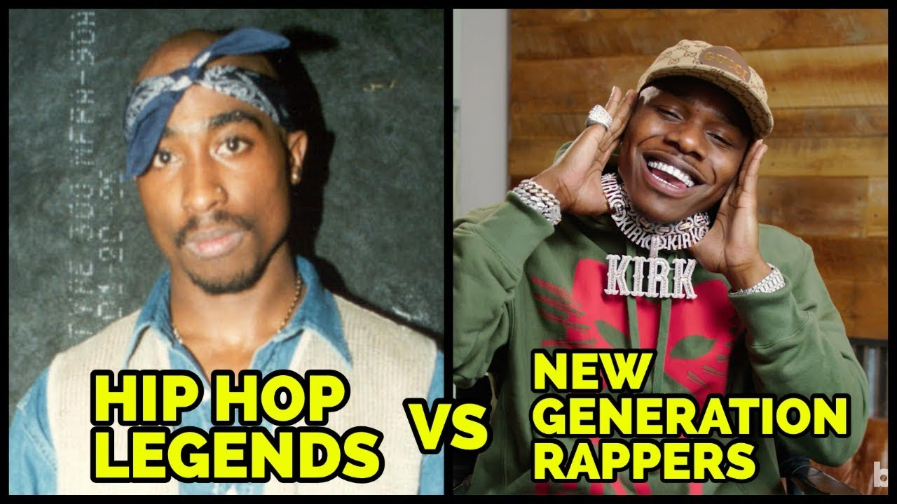HIP HOP LEGENDS VS NEW GENERATION RAPPERS 2020