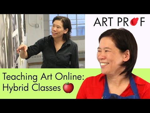 teaching-studio-art-online:-combining-in-person-&-remote-teaching