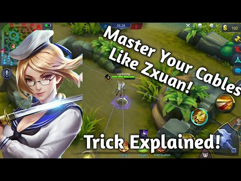 Fanny Cable Tricks Explained! Cable Combo's & Guides! Master your Cables like Zxuan!