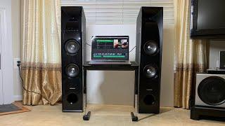 samsung wireless audio sound tower unboxing