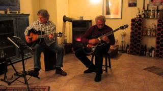 Sleep Walk Santo & Johnny Farina Instrumental Acoustic Cover w/ The Loars