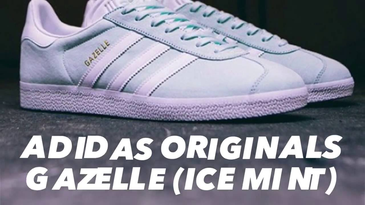 adidas gazelle ice mint. Black Bedroom Furniture Sets. Home Design Ideas
