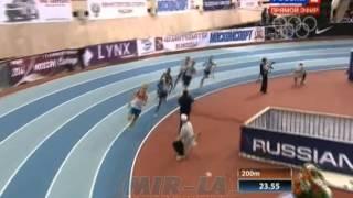 600м Финал А - Мужчина - Русская зима 2014