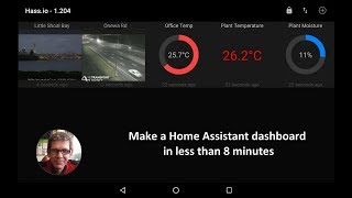 How to build a home automation dashboard in less than 8 minutes