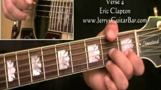 How To Play Eric Clapton Kind Hearted Woman Blues  Acoustic (final verse)