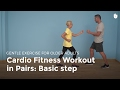 Cardio Exercise in Pairs: Basic Step | Exercise for Older Adults