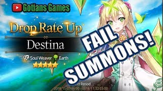 Epic Fail Summons For Destina In Epic Seven