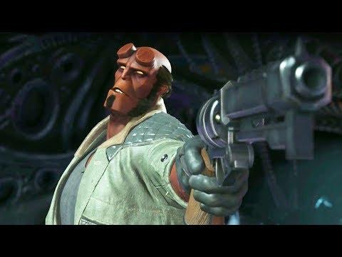 Injustice 2 - Introducing Hellboy!