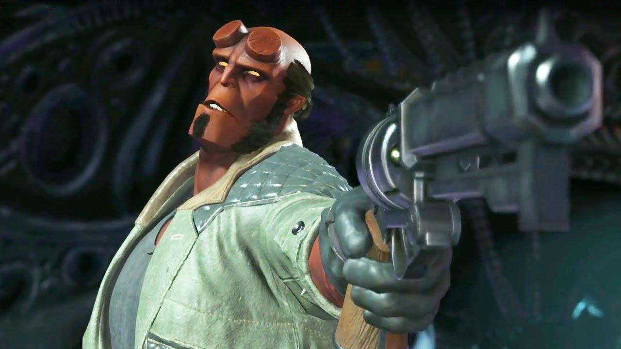 Download Injustice 2 - Introducing Hellboy!