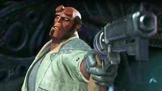Injustice 2 Introducing Hellboy