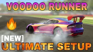 VOODOO RUNNER Ultimate Setup + Test Drive! (Dodge Viper GTS) | For TOP Scores | CarX Drift Racing
