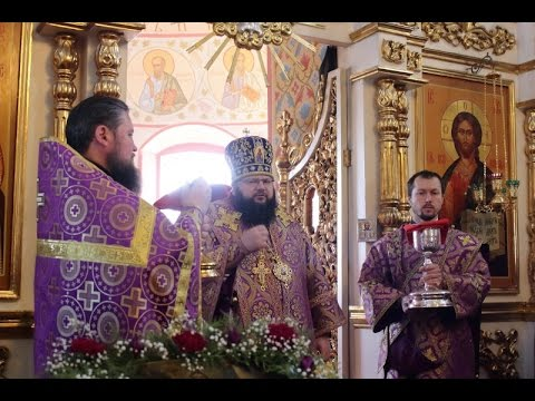 Визит митрополита Исидора в город Рославль