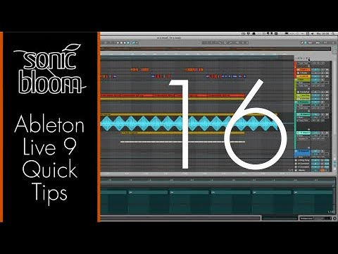 Ableton Live Quick Tips: Hüllkurven an der Song-Position Einrasten