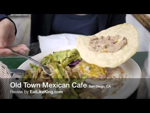Old Town Mexican Cafe, San Diego, CA - Review by EatLikeKing.com