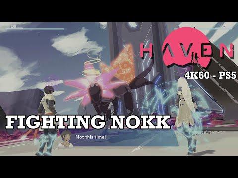 Fighting Nokk [Miniboss] - Haven in 4K60 | Playstation 5 |