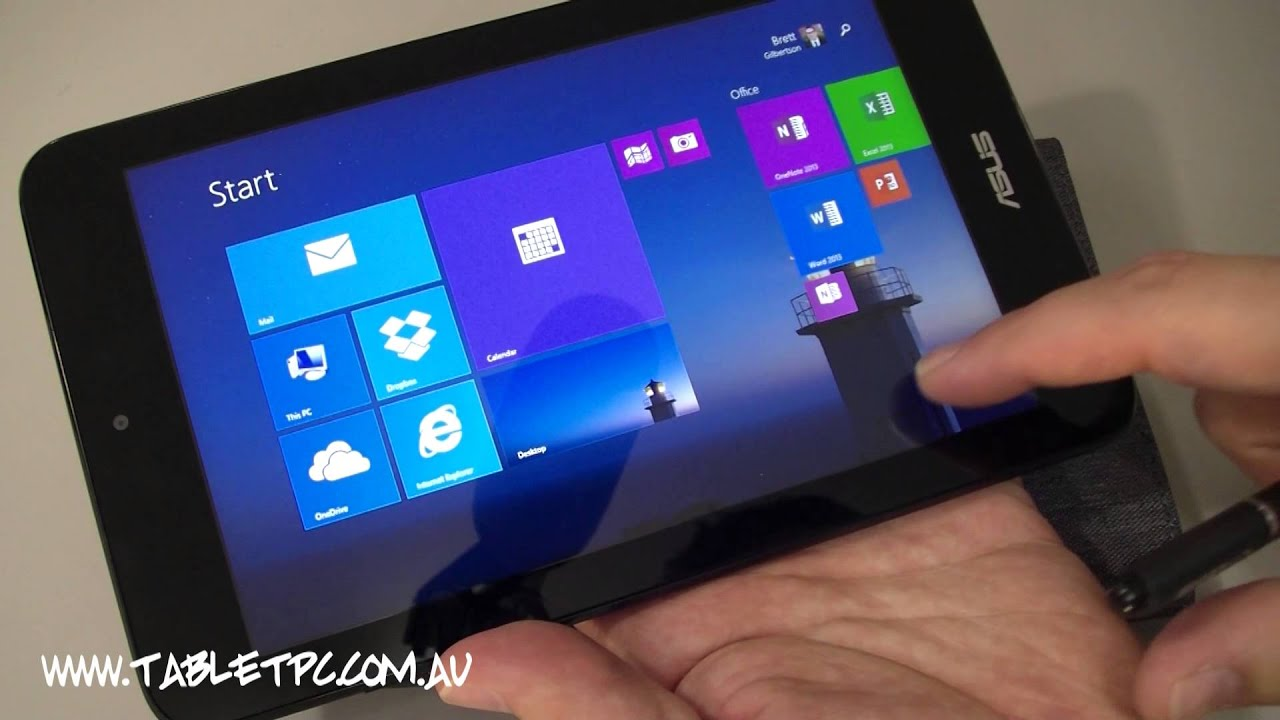 ASUS VivoTab Note 8 - Windows 8 Tablet with Wacom Digitizer Pen