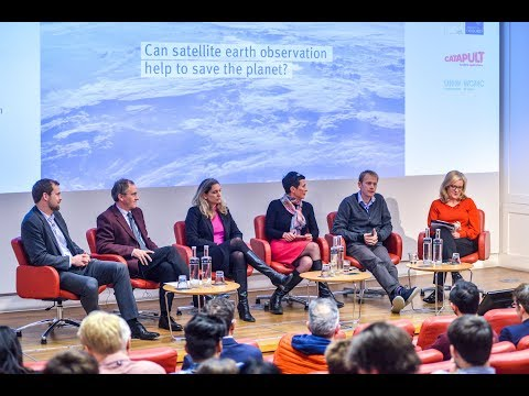 Annual debate 2019: Can satellite earth observation help to save the planet?