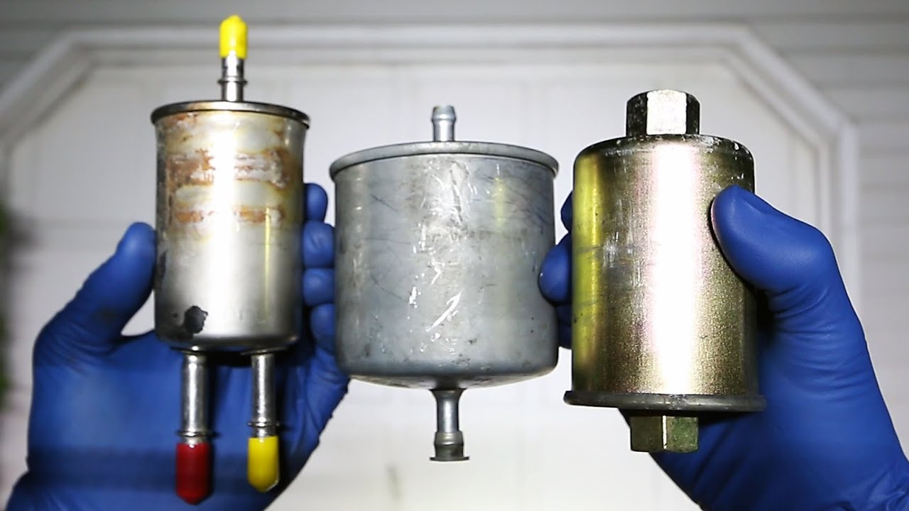 Replace your Fuel Filter - YouTube