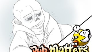 "Undertale Comic Dub - ""Watch Your Health"" (aka, Sick Day 2) - (LuckyJack020/Gwee/Hype)"