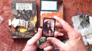 Arkham Horror: The Black Goat of the Woods Unboxing