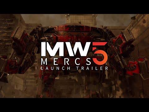 MechWarrior 5 Mercenaries Launch Trailer