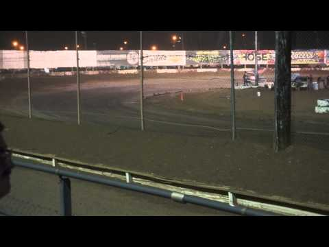 ASCS Winged Sprint Cars - Main Event Canyon Speedway PArk, AZ Arizona 8-15-15