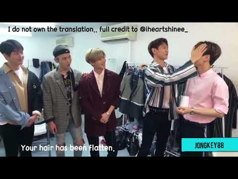 [Eng Sub] 180406 SHINee It Live SPECIAL: SMTOWN LIVE WORLD TOUR IN DUBAI - The Waiting Room Live