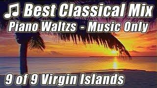 FAMOUS Classical PIANO WALTZ Relax Study Music Playlist Tchaikovsky Sentimental Rakhmaninov Chopin