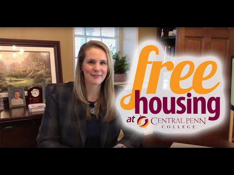 Free housing for incoming students at Central Penn College