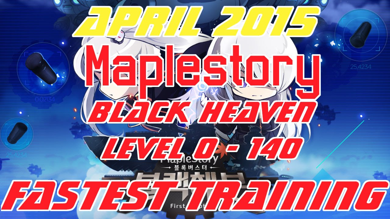 Best Maplestory Training Spots 1-250 Guide (GMS v 161
