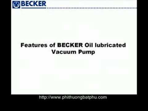 Bơm chân hút không- Becker hotline 0986327348 chuyên cung cấp bơm hút chân không
