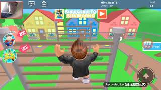 Roblox: I get out of the zombie cu and I the has its map