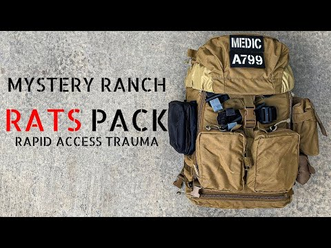 Mystery Ranch Rapid Access Trauma System (RATS Pack)
