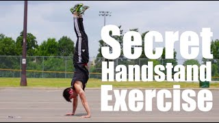 Fix Handstand Balance Problems Now | One Secret Exercise