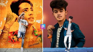 Picsart own wall photo editing || PicsArt photo editing || new creative edit