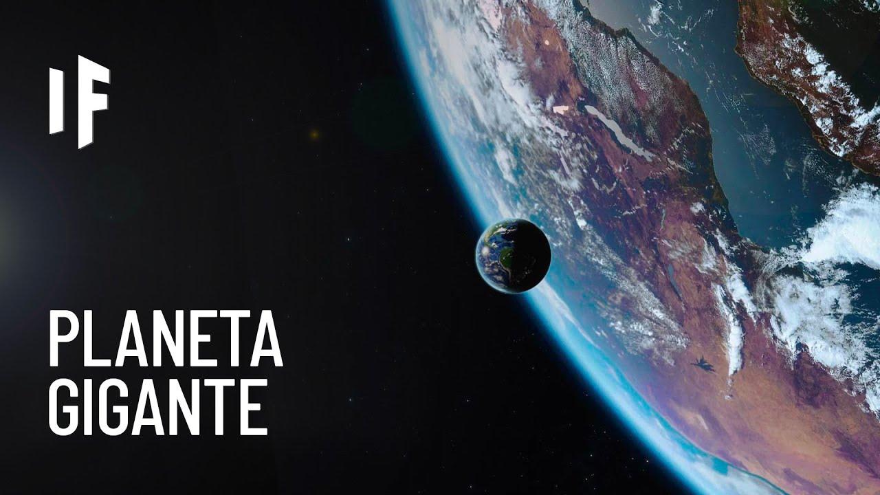 ¿Qué pasaría si la Tierra fuera tan grande como el Sol?
