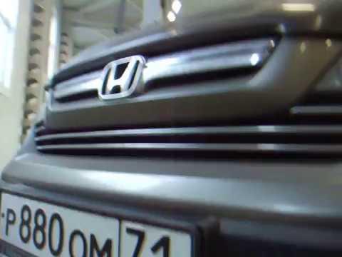 Honda CR-V 3. Люфт во втулке гидрорейки.