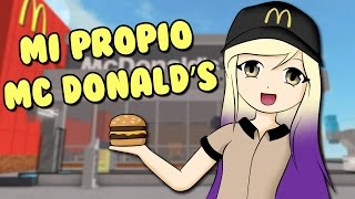 BUILD MY OWN MC DONALDS | ROBLOX