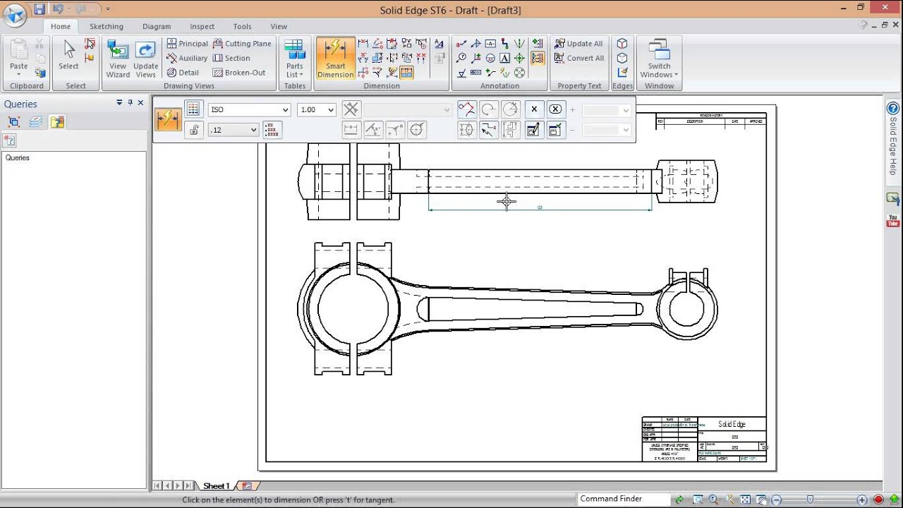 how to draw perspective view in autocad 2d