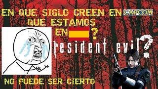RESIDENT EVIL 4, EN QUE SIGLO CREE CAPCOM QUE ESTAMOS EN ESPAÑA?