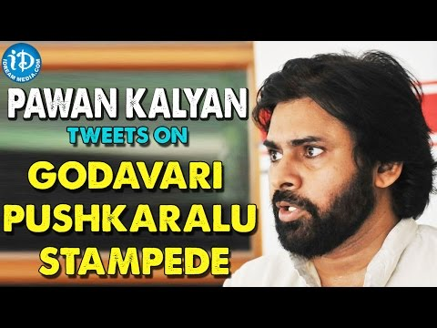 Pawan Kalyan Tweets On Godavari Pushkaralu Stampede