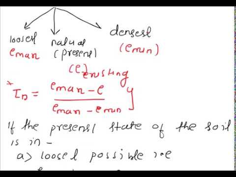 soil mech lect 4 basic concept of relative density and relative compactnessof soil
