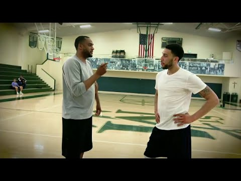 NBA 2016 Draft - Steve Smith with Denzel Valentine