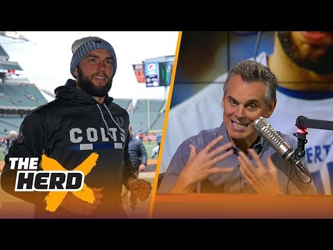 Colts put Andrew Luck on IR for remainder of 2017-18 NFL season - Colin Cowherd reacts | THE HERD