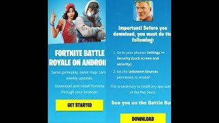 Fortnite Android Download By Epic Games | How To Download Fortnite For Android